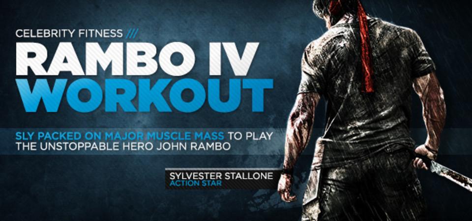 Rambo 4 Stallone S Blockbuster Workout
