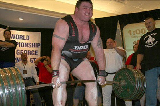 Kettlebell training helped powerlifter Andy Bolton deadlift 1,000 pounds