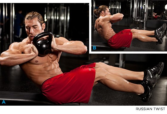 Sculpt A 6-Pack With Just 3 Moves!