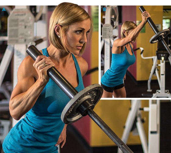 The Overhead Press The Actual Difference Between Seated: Shoulder Work Ahead: Jessie Hilgenberg's Delt Workout