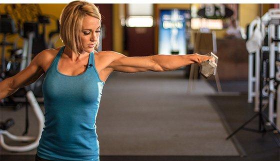 Shoulder Work Ahead: Jessie Hilgenberg's Delt Workout
