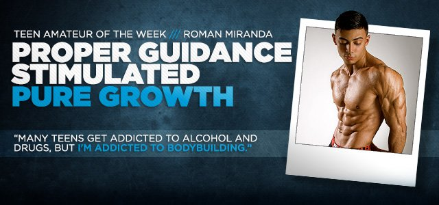 teen amateur week proper guidance stimulated pure growth