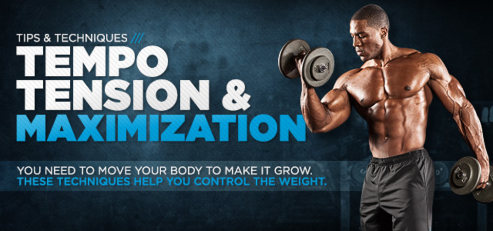 Tempo & Tension Maximization For Advanced Bodybuilders!