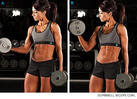 Bare Your Arms: Jen Jewell's Armageddon Workout