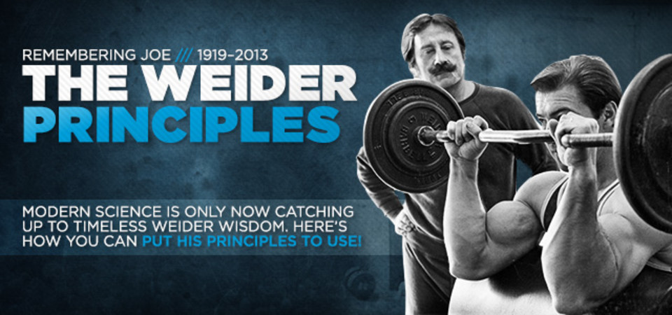 Remembering Joe Weider: The Science Of The Weider Principles