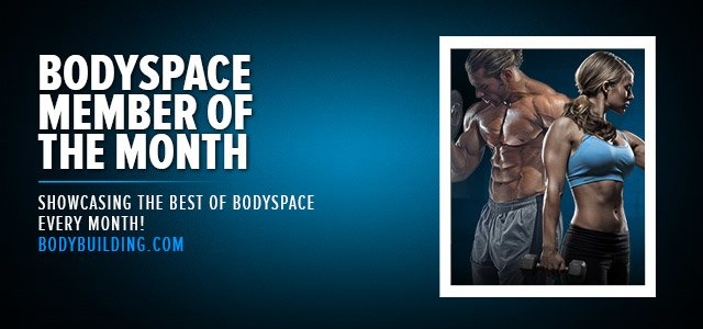 BodySpace Member Of The Month