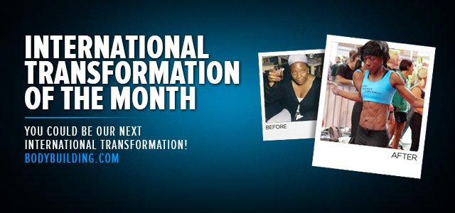 International Transformation Of The Month