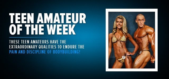 Teen Amateur Bodybuilder Of The Week - Profile Page