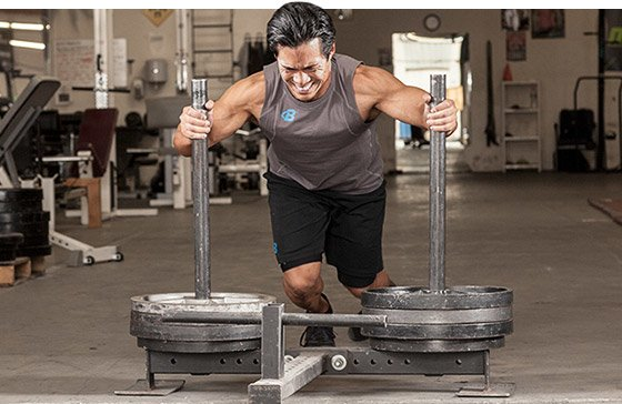 Weight training is a very demanding sport, and pushing, pulling, and straining against heavy iron using all of your strength can often be quite dangerous.