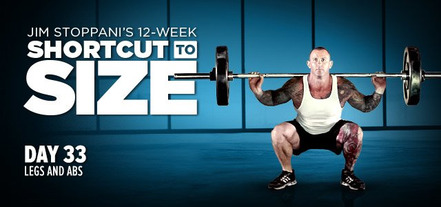 Shortcut To Size: Phase 2, Week 5, Day 33
