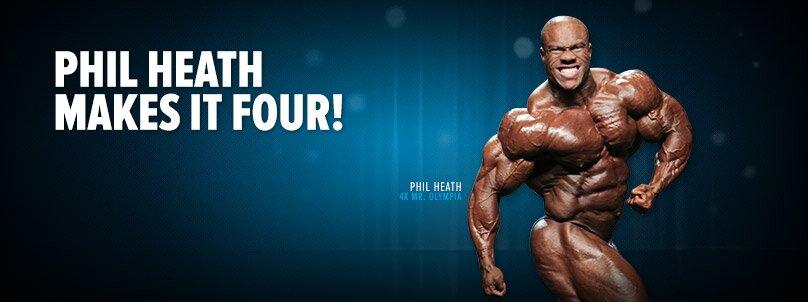 Phil Heath Makes It Four!