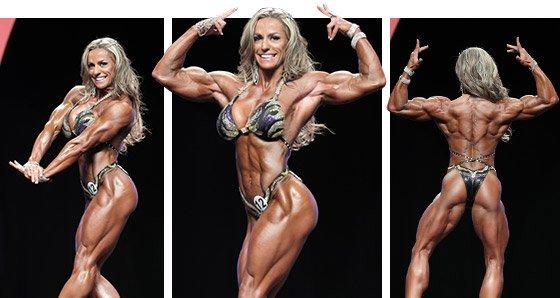2014 Women's Physique Report: Juliana Malacarne Defeats DLB