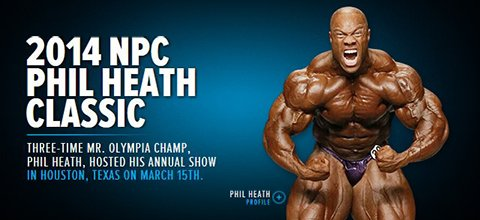 2014 NPC Phil Heath Classic