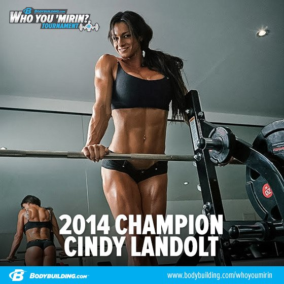Who You 'Mirin Winner: Cindy-training
