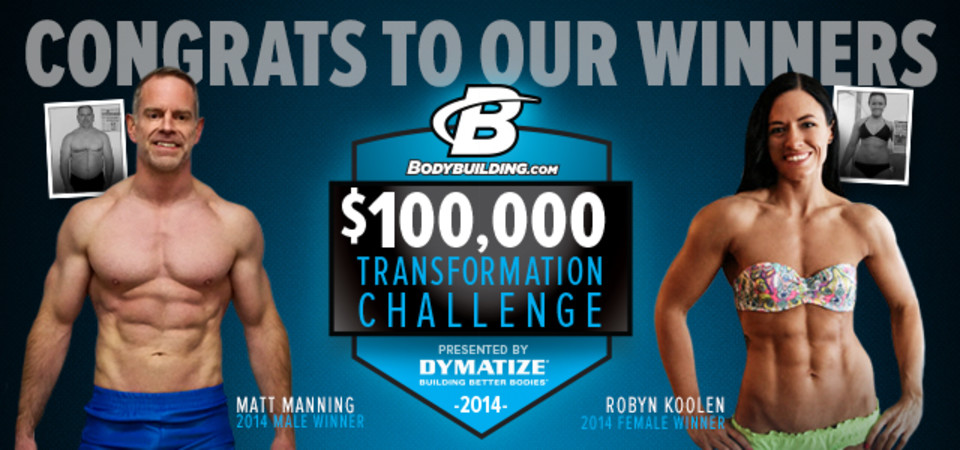 2014 100k Winners Landing Page