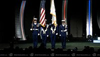 2014 Arnold Classic And Bikini International Opening - Armed Forces Medley And National Anthem Replay