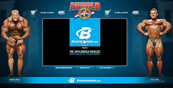 2014 Arnold Classic Webcast player