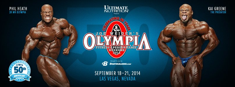 2014 Olympia Coverage