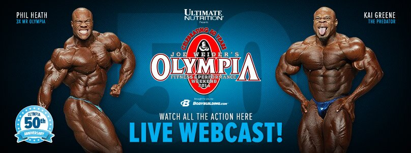 2014 Olympia LIVE Webcast