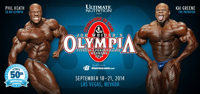 2014 IFBB Olympia - Past Olympia Coverage.