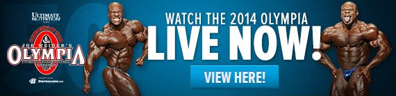 Watch the FREE 2014 Olympia Webcast right here!