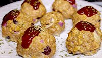HEALTHY HOLIDAY MEATBALLS
