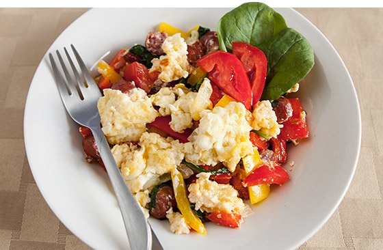 Protein-Packed Breakfast Scramble Recipe — Dishmaps