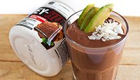 CHOCONUT AVOCADO PROTEIN SHAKE