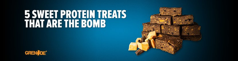 Healthy Recipes: 5 Sweet Protein Treats That Are The Bomb