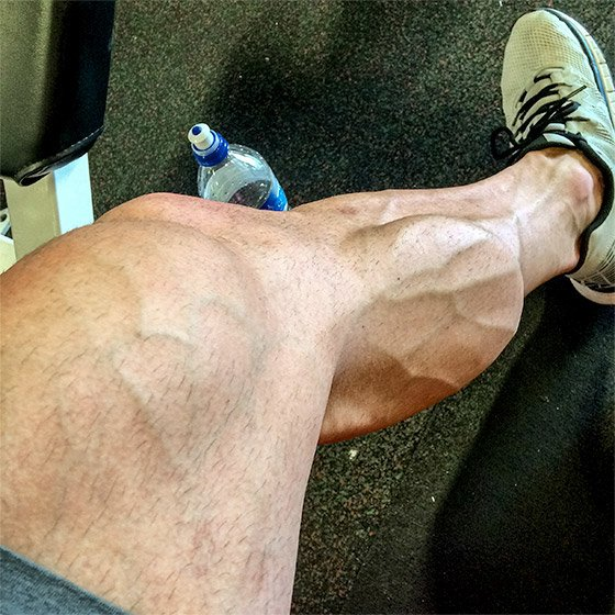 how to get your calves bigger
