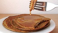 SPROUTED BUCKWHEAT PUMPKIN PANCAKES