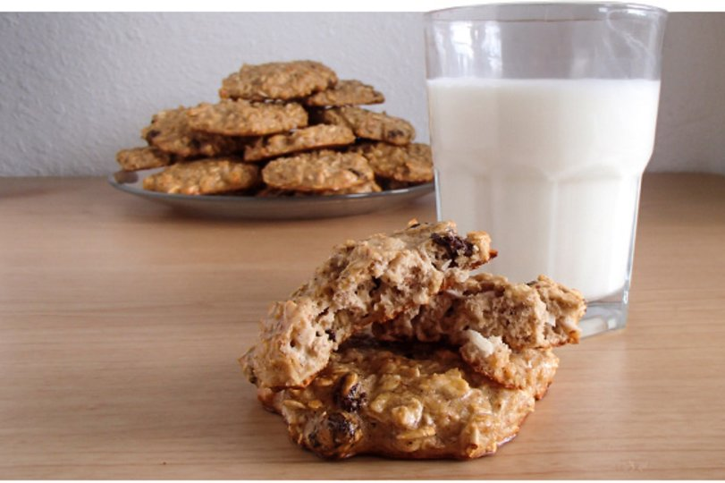 High-Protein Oatmeal Cookies