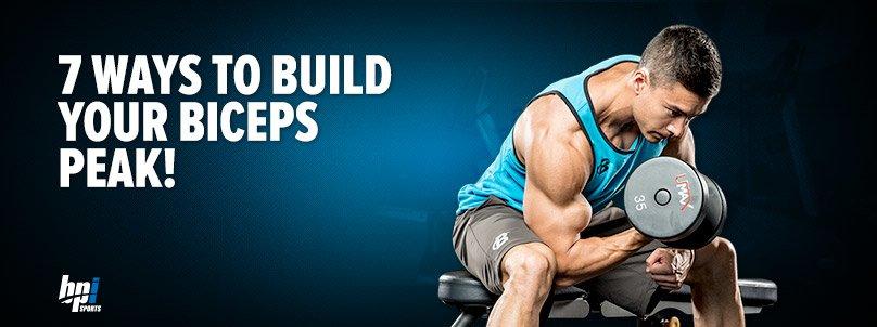 Build Your Biceps Peak