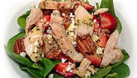 STRAWBERRY AND FETA CHEESE SALAD