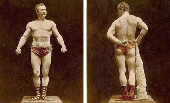 Officially known as the first famous bodybuilder and the father of modern bodybuilding, Eugene Sandow, born 1867, immediately became a phenomenon.