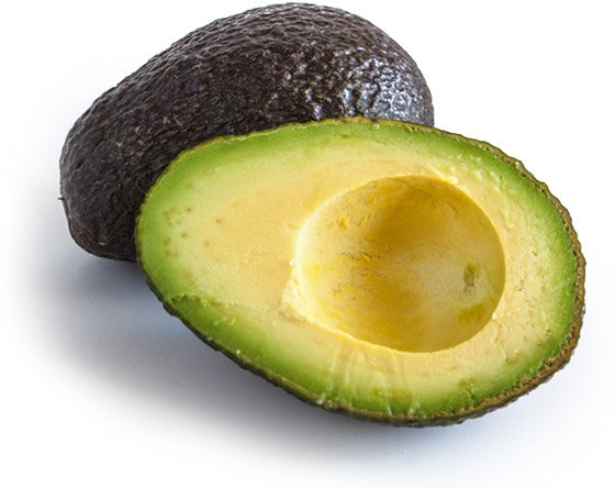 Many foods don't have wheat in them, including avocados
