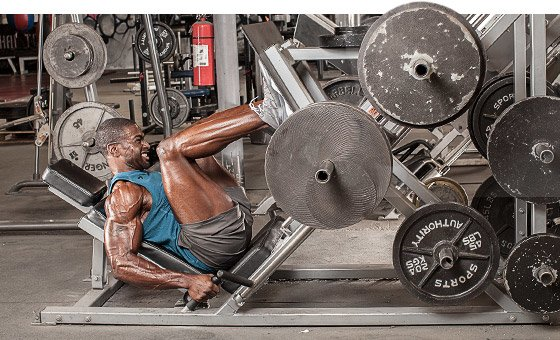 The 1RM test often comprises just a couple of exercises - the bench press and leg press.