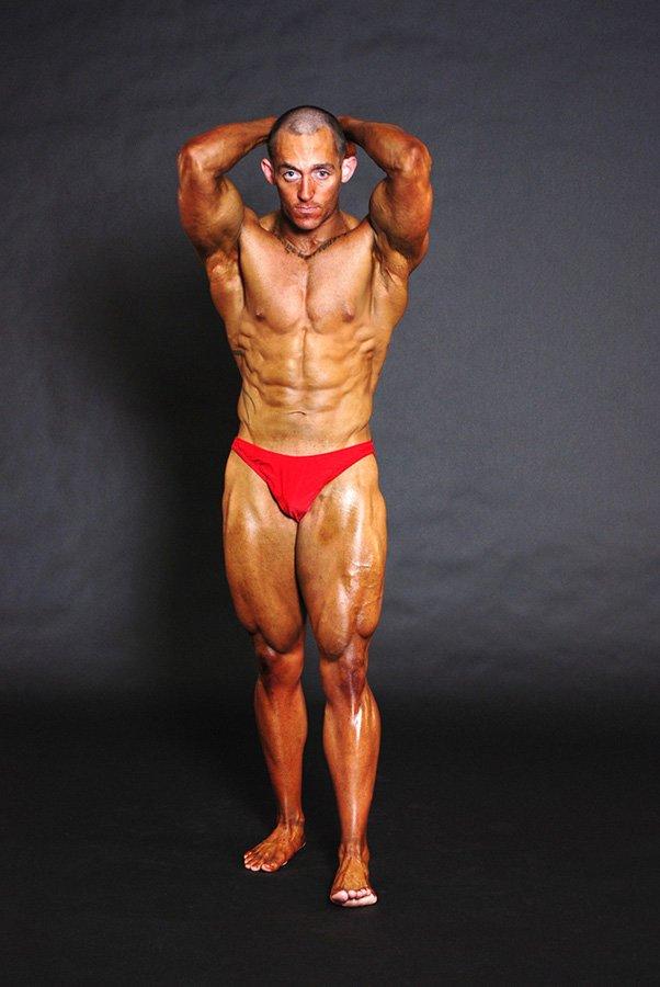 Amateur body building photo