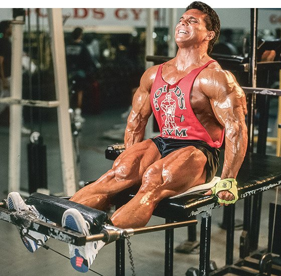 when it came to bodybuilding, I always wanted to prove to him that I was going to be the best.