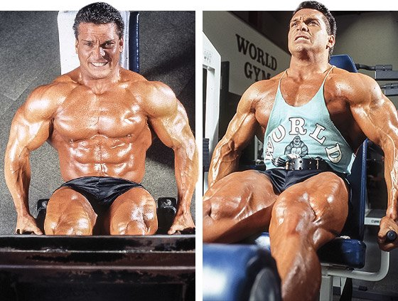 As a pro, I worked mostly on getting my legs more and more separated and building up the hamstrings.
