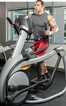 Every pedal on the cross trainer or every step on the treadmill is improving.