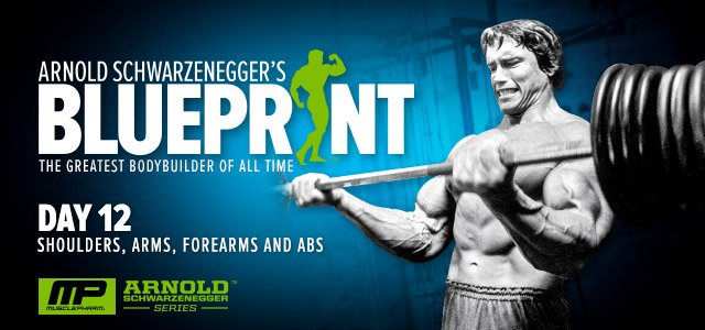 How to train for mass arnold schwarzenegger 39 s blueprint arnold going to use the arnold blueprint malvernweather Images