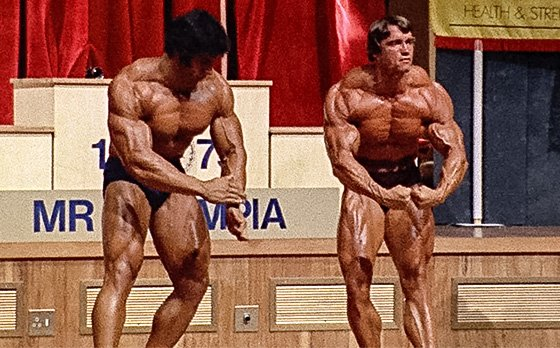 Arnold schwarzenegger blueprint trainer day 23 once arnold stepped onstage it became clear who was mr olympia malvernweather Choice Image
