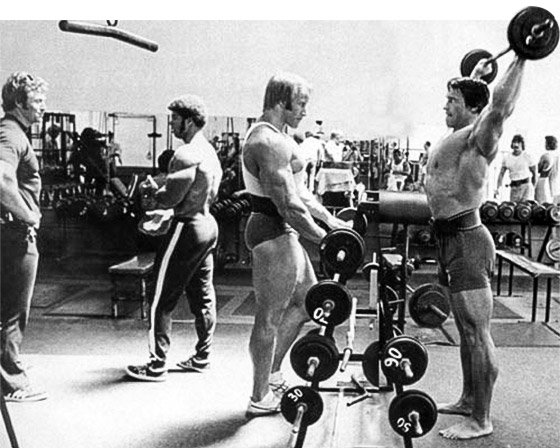 Arnold schwarzenegger blueprint trainer day 2 these double split days were one important way that arnold balanced his life with training ensuring that no particular body part got left behind malvernweather Gallery