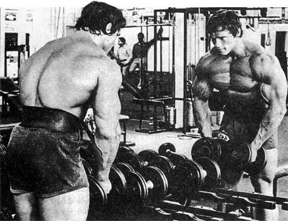 Arnold schwarzenegger blueprint trainer day 43 it became extremely important to have somebody standing behind me saying lets do more arnold malvernweather Choice Image