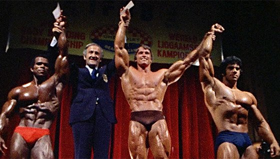 Arnold schwarzenegger blueprint trainer mass training overview arnold and his fellow golden age legends applied similar methods to all the muscle groups malvernweather Gallery