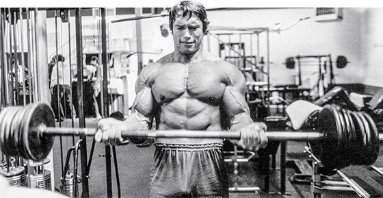 Arnold didn't just train shoulders and arms for 60-plus sets—he did it three times a week with incredible intensity!