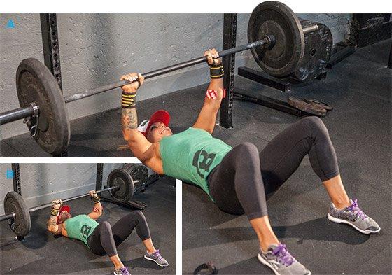 Ashley Horner S Full Body Squat Rack Workout
