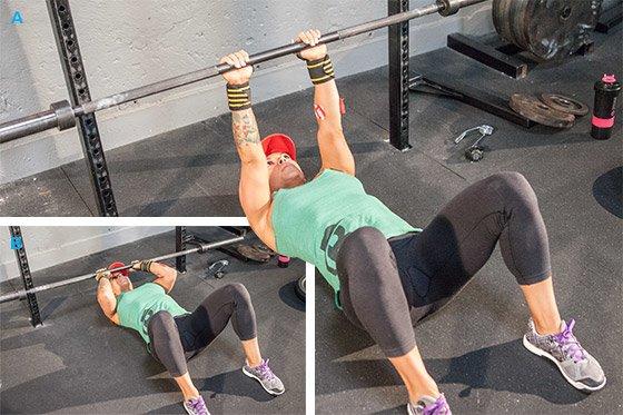 Used Squat Rack >> Ashley Horner's Full-Body Squat Rack Workout!