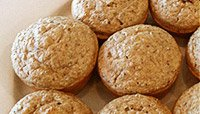 Maple Pecan High Protein Muffins